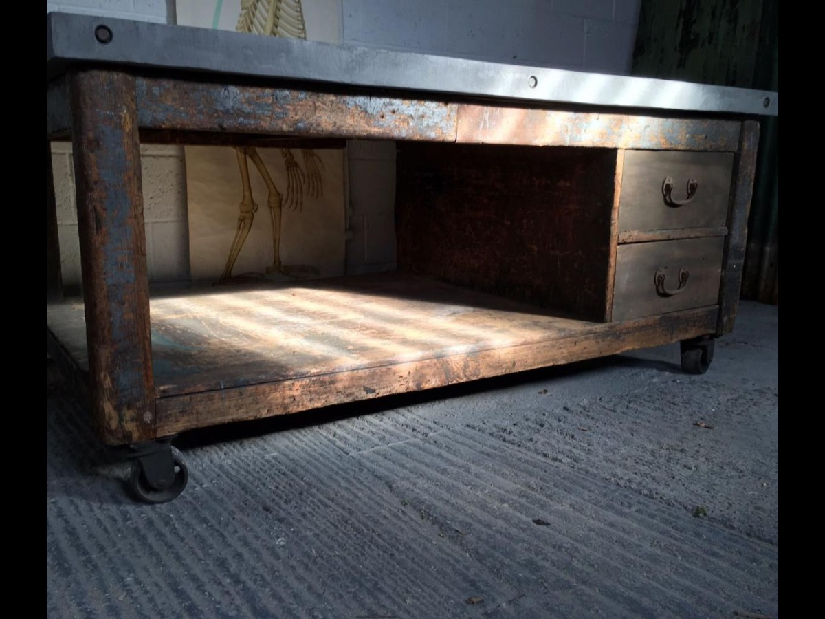 Bakers Table Kitchen Island