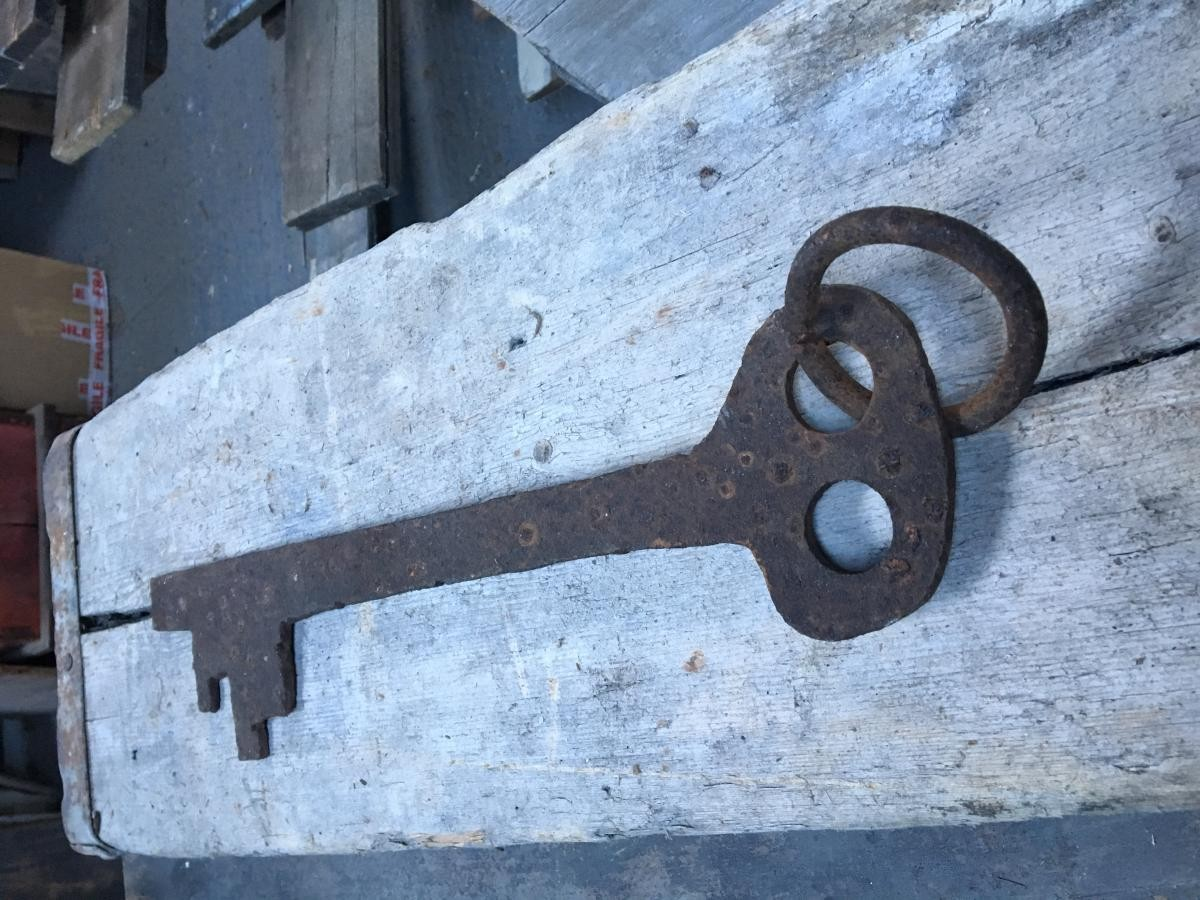 Large Antique Key