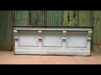 Decorative Zinc Top Counter-SOLD
