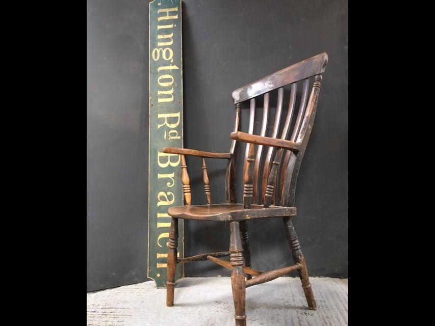 Flat Back Windsor Chair