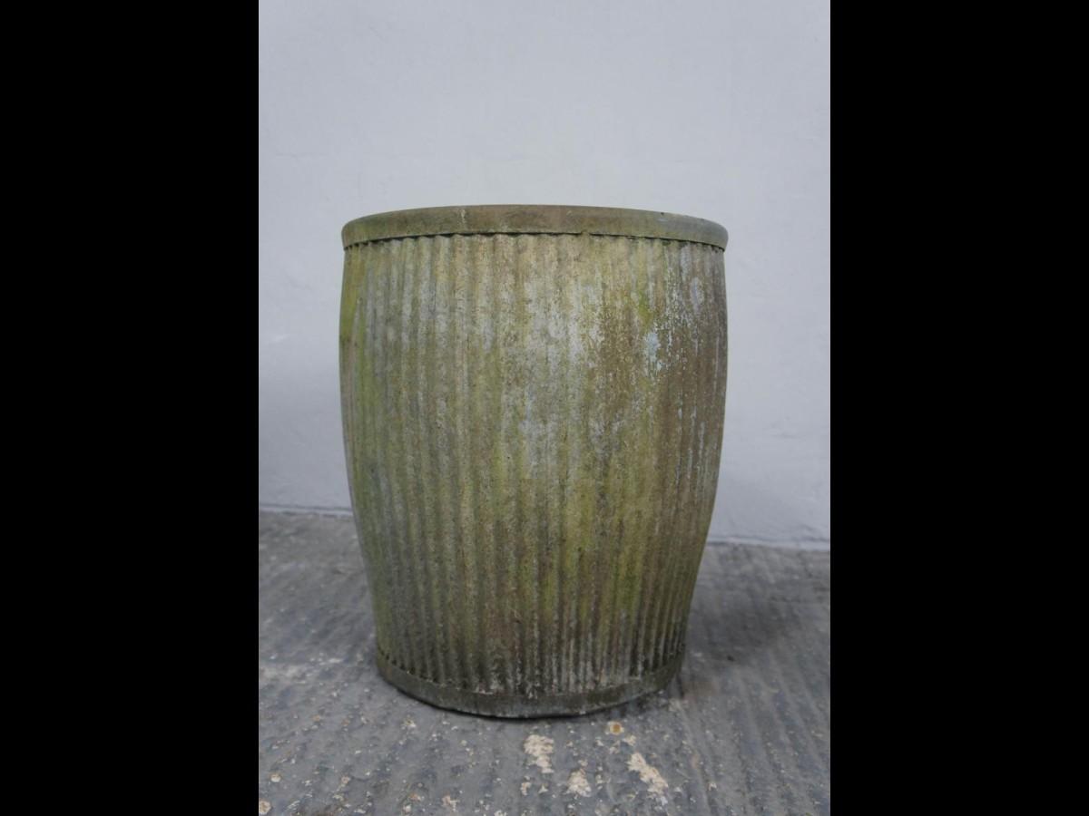 Vintage Galvanised Dolly Tub Planter