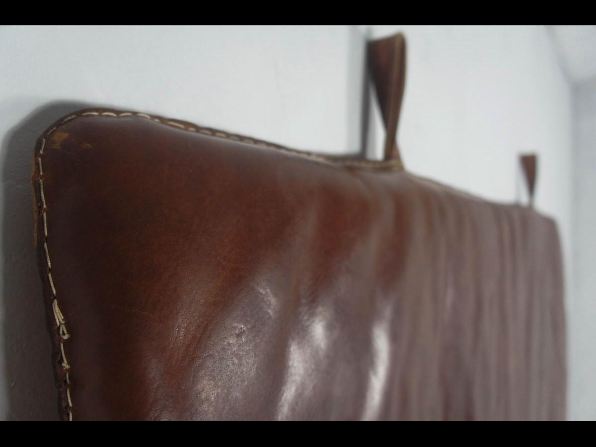 Vintage Leather Gym Mat