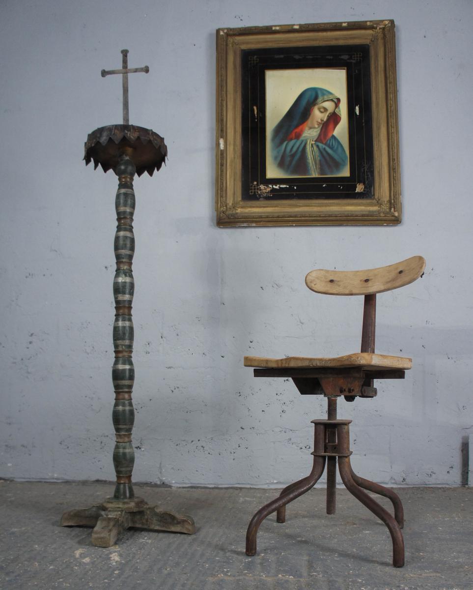 19th Century Church Candlestick