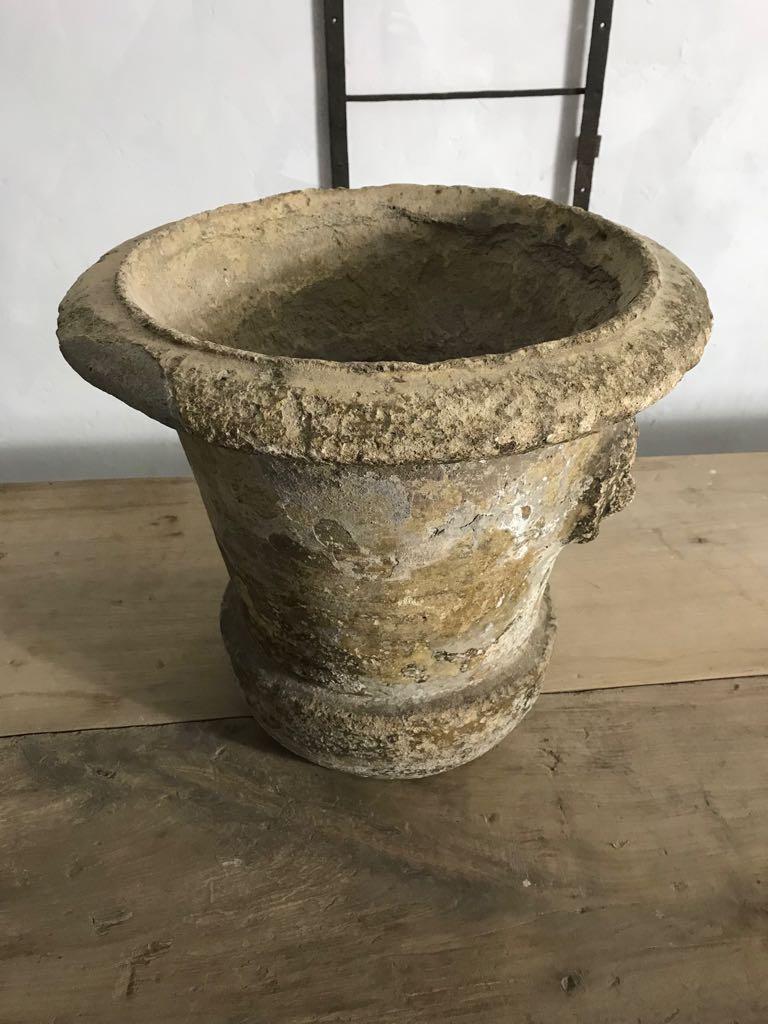19th Century Terracotta Decorative Garden Urn